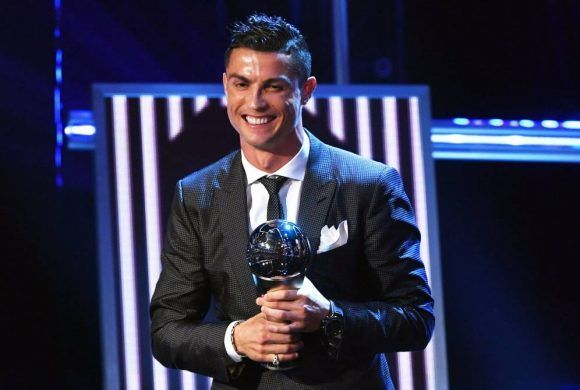 1Cristiano gana el The Best 2017 580x390