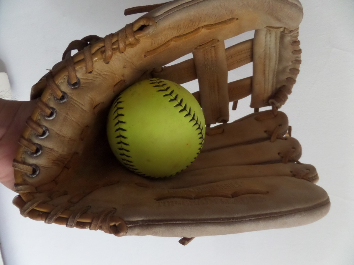 softbol softball pelota y guante