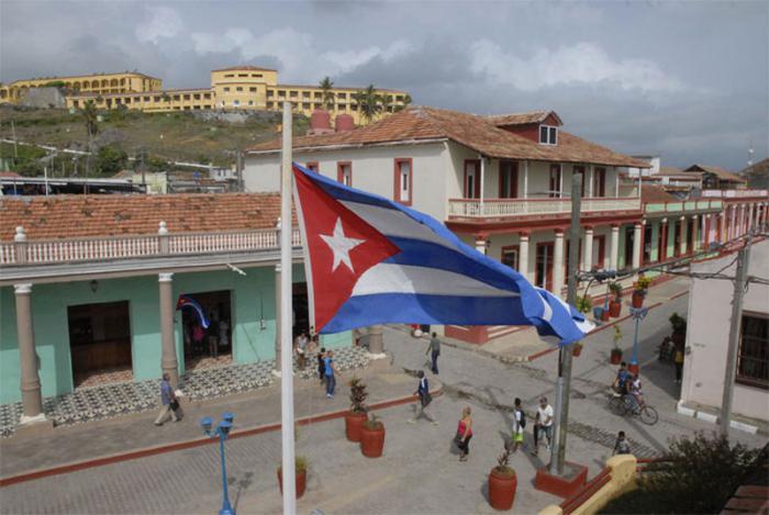 Vista del centro de Baracoa.