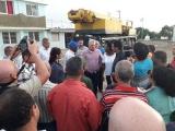 Chequea Díaz-Canel recuperación en Batabanó