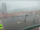 El huracán María azota a Puerto Rico