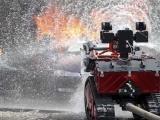 Un 'robot bombero' controlado a distancia ayudó a salvar Notre Dame
