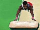 Manrique Larduet se llevó tres de oro en Copa del Mundo de Gimnasia en Portugal