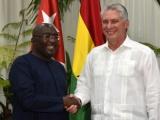 Recibió Díaz-Canel a vicepresidente de Ghana