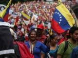 Venezolanos se movilizan para cierre de campaña Constituyente