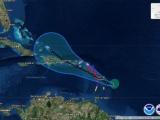 El huracán María sube a categoría 3 y Puerto Rico declara el estado de emergencia