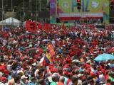 Venezolanos marchan en defensa de la Revolución y la soberanía