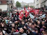 Inician masivas protestas en Francia contra Macron por congelación salarial