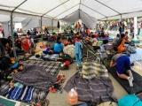 Más de cinco mil migrantes permanecen en Baja California, México