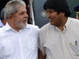 Lula tiene el apoyo de la Patria Grande, dijo Evo Morales