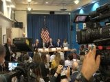 Concluyen visita a Cuba congresistas estadounidenses
