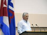 Discurso de Díaz-Canel en la clausura del X Congreso de la UPEC