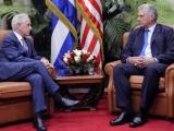 Recibió Díaz-Canel al Presidente del Comité de Relaciones Exteriores del Senado de los Estados Unidos