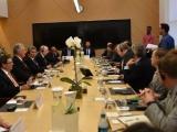 Presidente cubano Díaz-Canel visita sede de Google en Nueva York