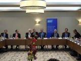 Presidente cubano se reúne en Londres con empresarios británicos