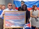 Recibe Cuba donativo ruso para damnificados por el huracán Irma