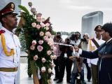 Evo Morales rinde honores a José Martí