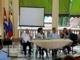 Icap realiza acto de solidaridad con Venezuela