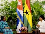 Recibió Inés María Chapman a canciller de Ghana
