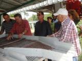 Recorre Machado Ventura obras de interés económico de Cienfuegos y Matanzas