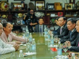 Recibió Machado Ventura a delegaciones de los Partidos Comunistas de Vietnam y de España