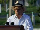 Fidel no ha dejado de estar presente junto a este pueblo, afirmó Machado Ventura