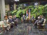 Recibió Raúl a Delegación del Congreso de Estados Unidos