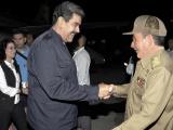 Recibió Raúl a Nicolás Maduro