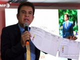 Oposición hondureña exhibe pruebas de fraude en comicios