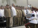 Presidió Raúl ceremonia inhumación de los restos de 104 combatientes del II Frente Oriental Frank País