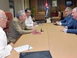 Raúl Castro recibió a presidente de empresa petrolera rusa