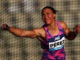 Cubana Yaimé Perez gana en Francia con mejor marca del año en lanzamiento del disco
